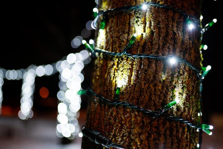 L'installation des décorations de Noël  est débutée à Victoriaville