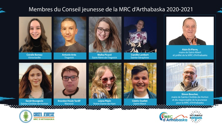 Le Conseil jeunesse de la MRC d'Arthabaska
