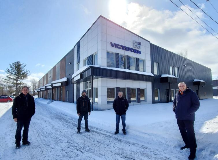 Axo Solution emménage dans l'Écoparc industriel Daniel-Gaudreau