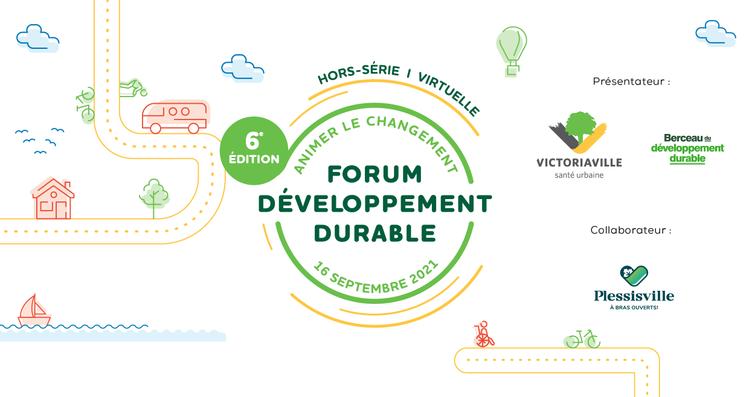 Victoriaville présente une édition hors-série du Forum développement durable