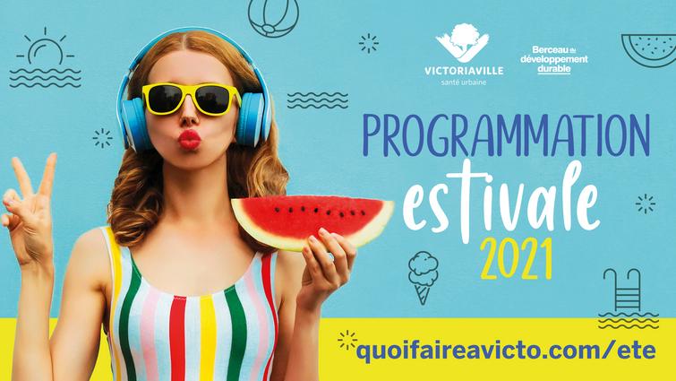 Victoriaville dévoile sa programmation estivale 2021