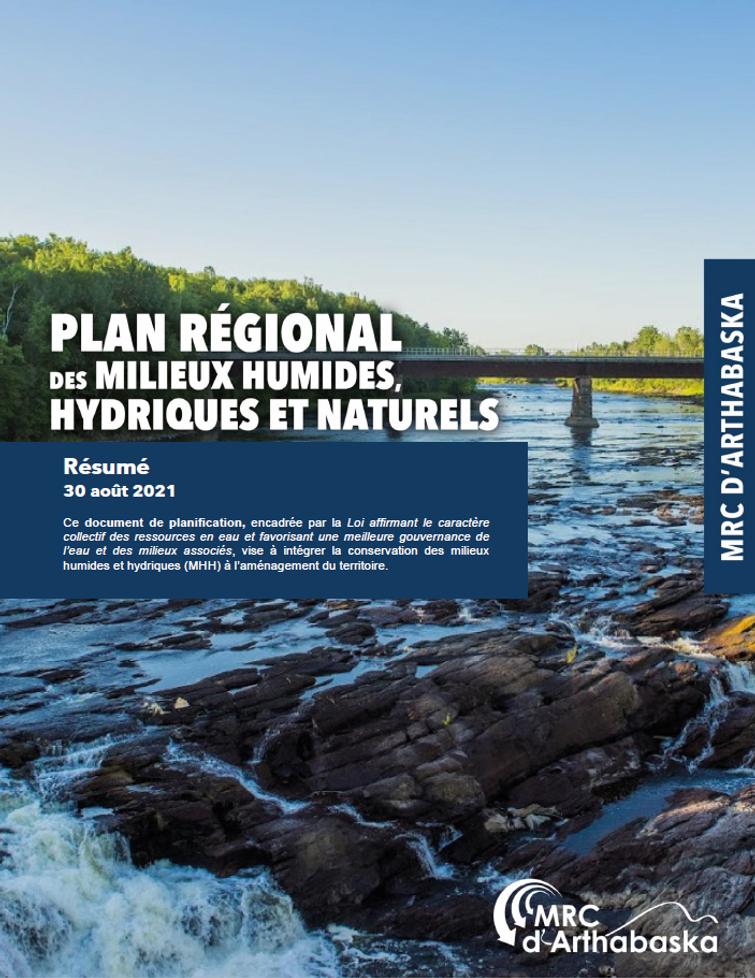 Un plan régional des milieux humides, hydriques et naturels pour la MRC d'Arthabaska
