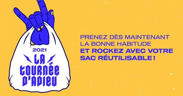 """Victoriaville lance sa campagne  """"Je rock avec mon sac réutilisable"""""""