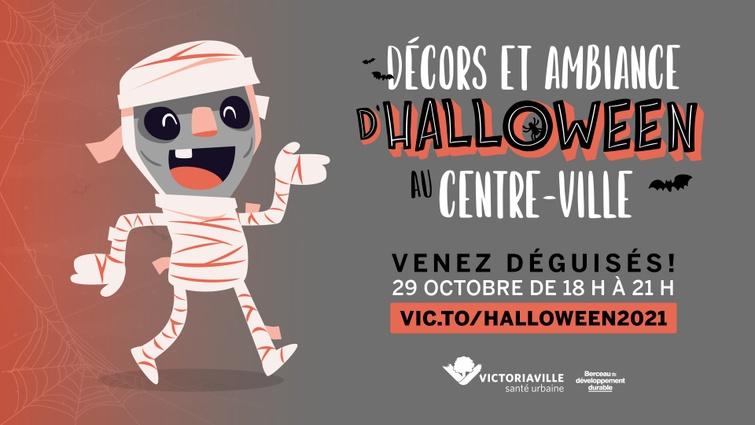 Victoriaville se prépare pour l'Halloween 2021: Décorations et concours au programme