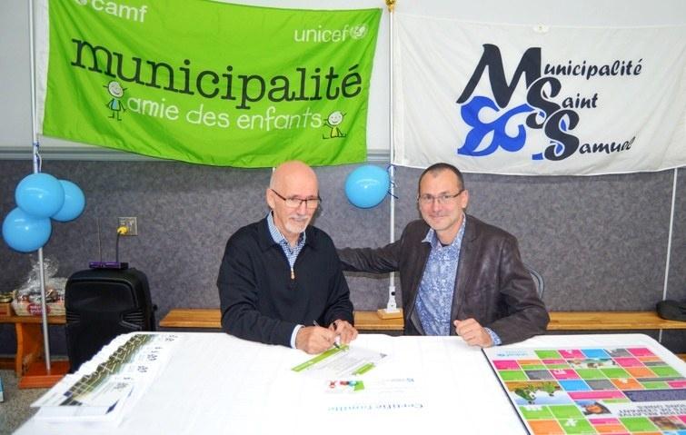 Saint-Samuel maintenant reconnue Municipalité amie des enfants (MAE)