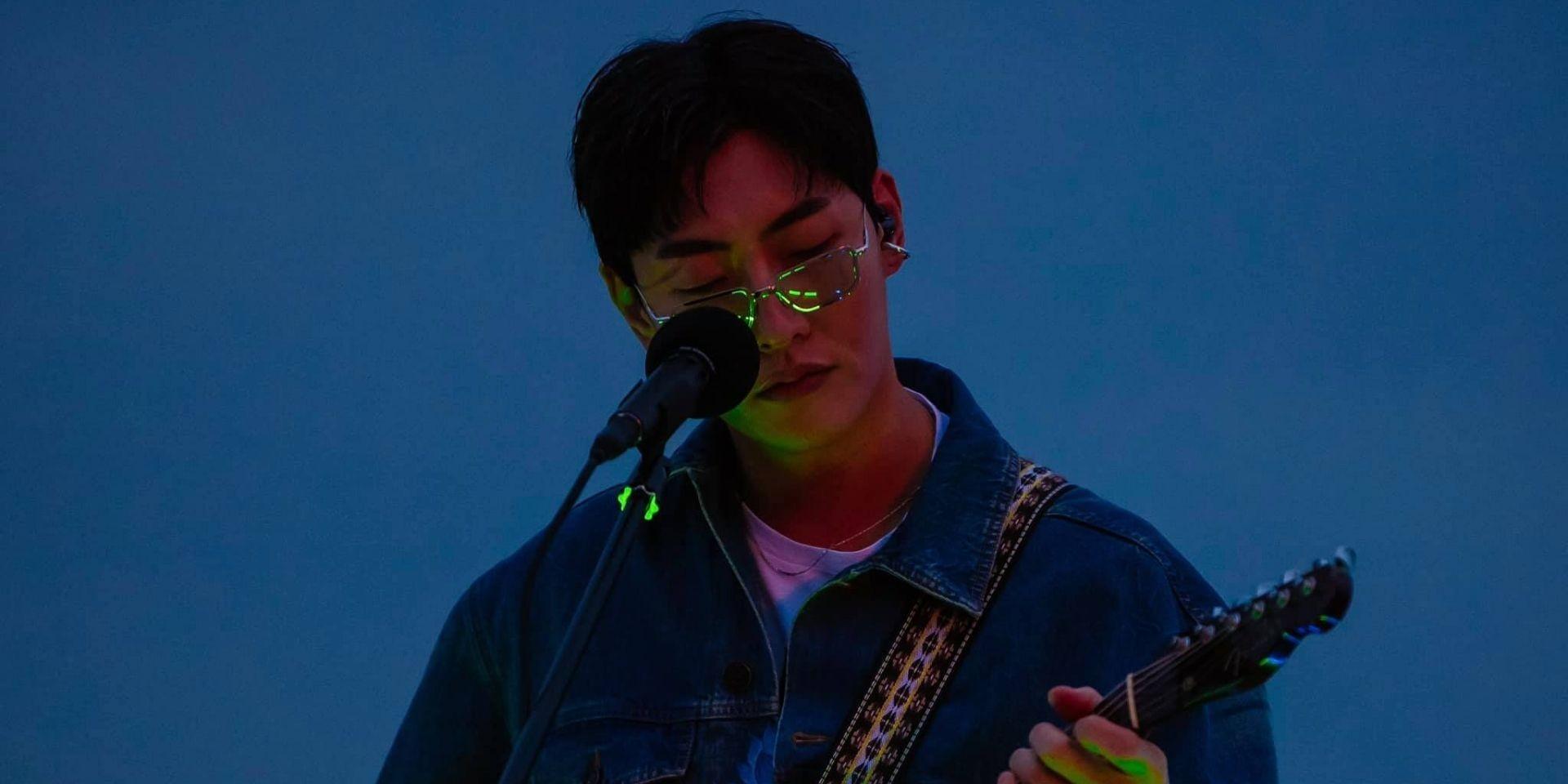 Korean singer-songwriter SHAUN returns with two brand-new singles under the '#0055b7' project — listen
