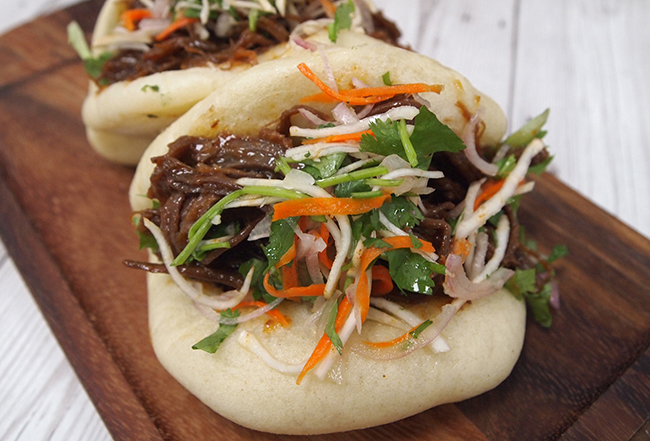 Creative Foods' Korean BBQ pulled beef