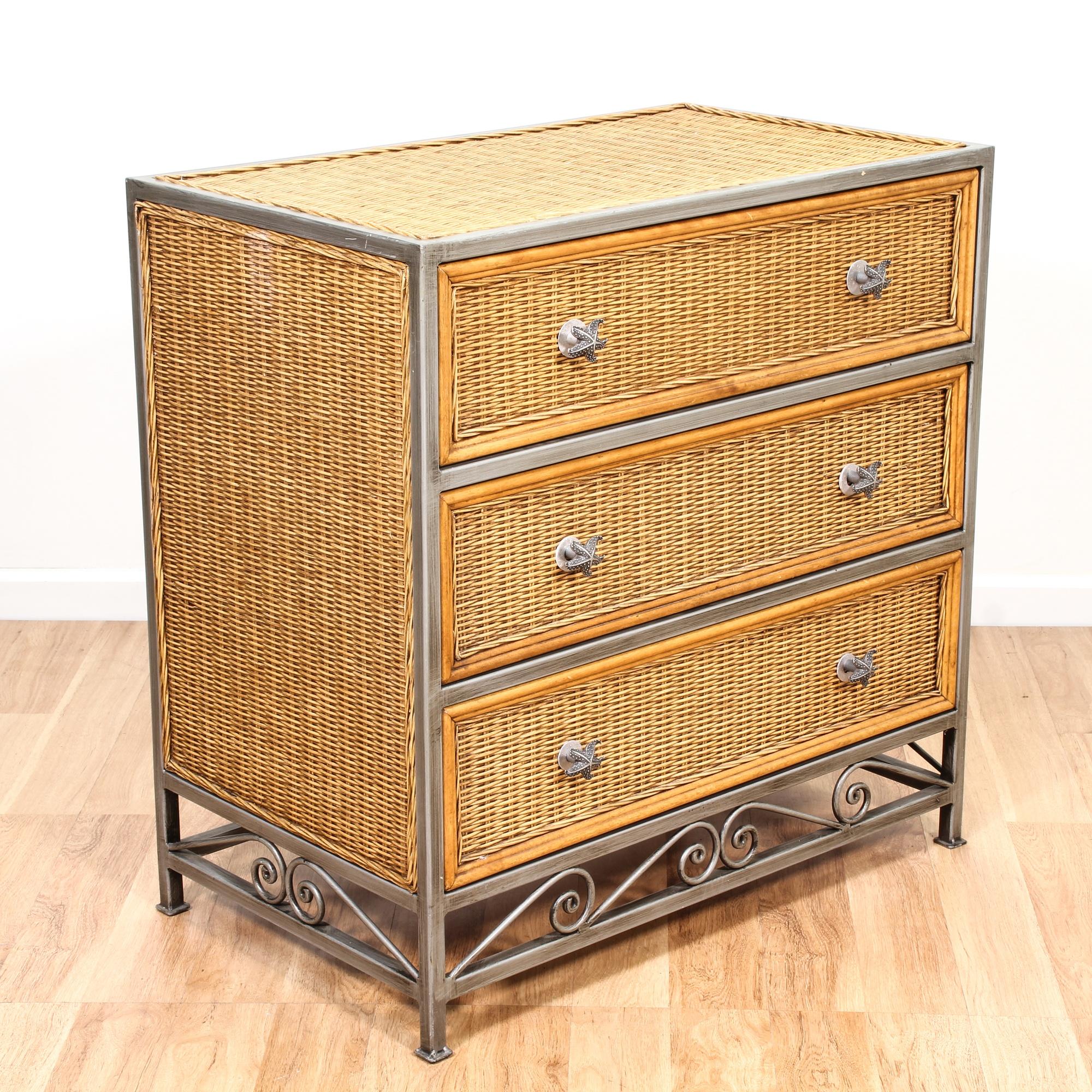 coastal wicker metal chest of drawers loveseat vintage furniture san diego los angeles. Black Bedroom Furniture Sets. Home Design Ideas
