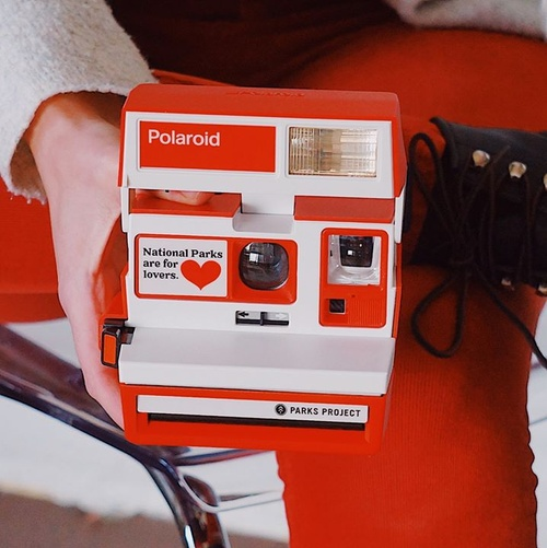 VALENTINE'S GIVEAWAY ❤️ Will you be our Valentine? We're gifting one of our LIMITED EDITION Parks Are For Lovers Polaroid camera, 2 packs of film, a box of chocolates, and a Parks Project gift card to one lucky park lover! Visit our Instagram and follow the instructions for entry https://www.instagram.com/p/B79AGPbDw1z/ Good luck!