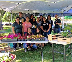 Come join us today at Planada Community Day where our students will be selling plants, flowers, and mechanics projects just in time for Mother's Day! #lghsffa #seekinggrowth #pursuingsuccess
