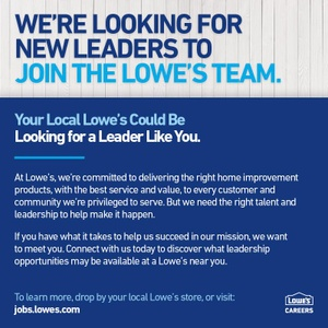 Working At Lowe S Jobs And Careers At Lowe S