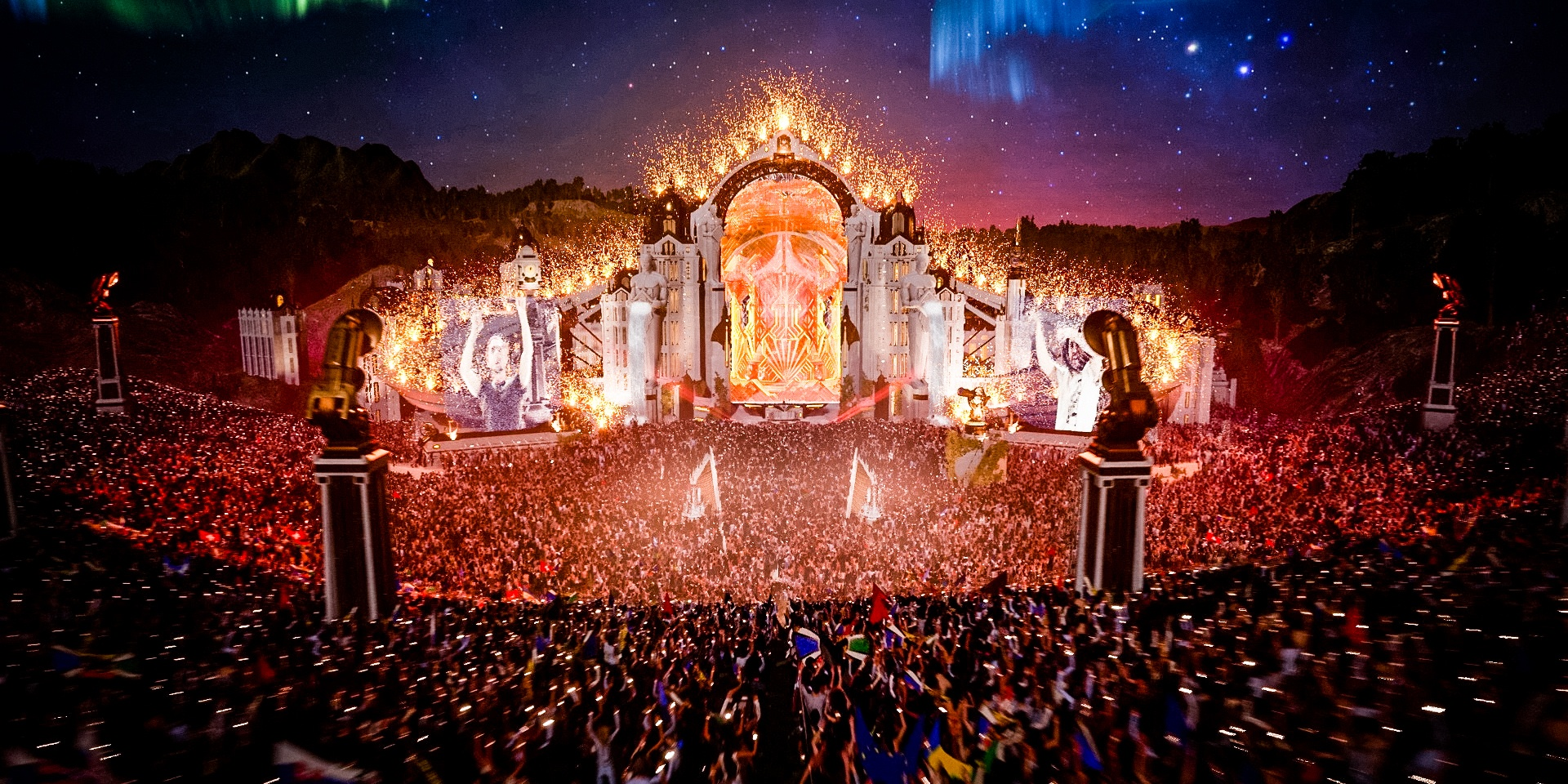 Re-defining online music events: Tomorrowland Around the World