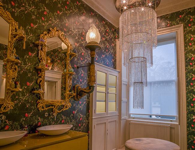 No 15 Great Pulteney, Bath: the ladies' loos