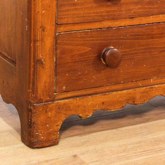 Monterey Style 4 Drawer Dresser W Wooden Pulls Loveseat