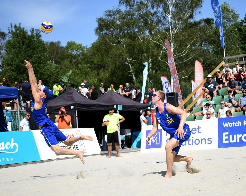 10-11 juli intar den svenska beachvolley-eliten sanden vid Beach Center i Göteborg