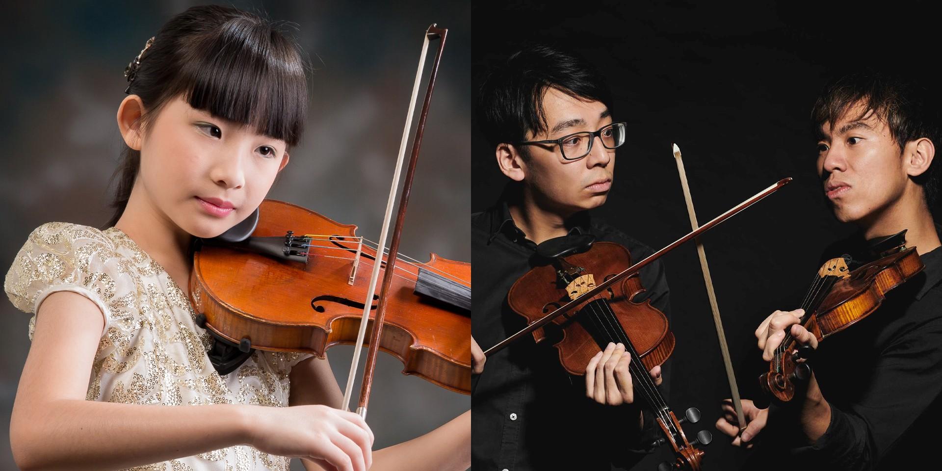 13-year-old violin prodigy Chloe Chua roasts TwoSet Violin – watch