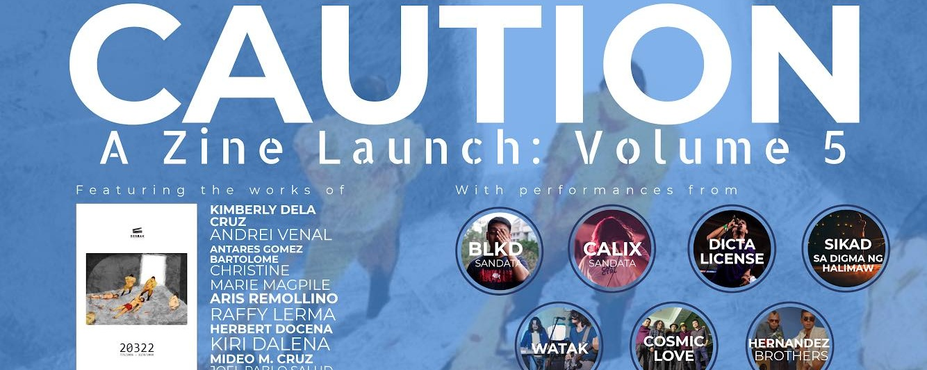 Caution: Volume 5 Zine Launch, Cubao Expo