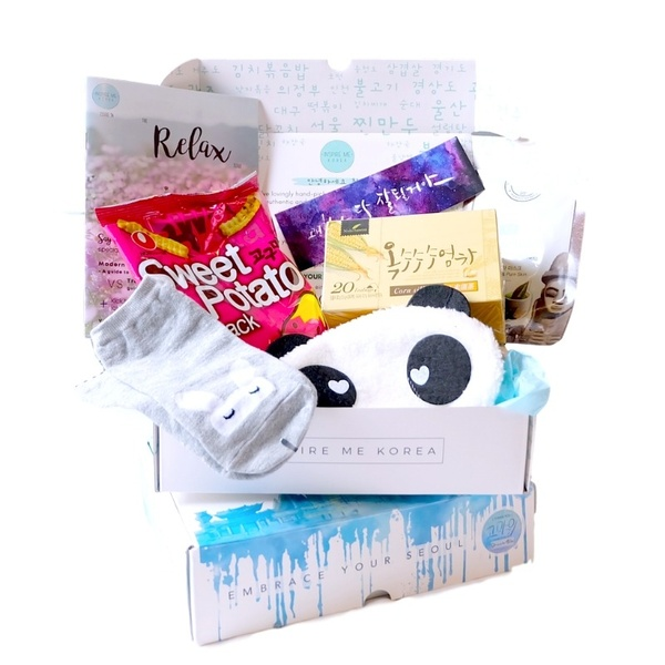 The Inspire Me Korea RELAX Box