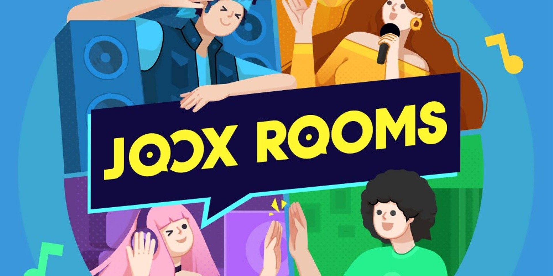 JOOX launches new live socially interactive feature 'ROOMS'