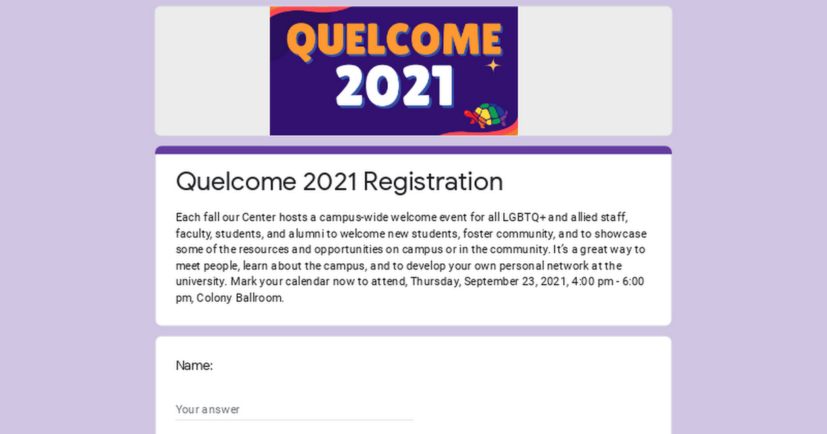 @UMDLGBTEquity Quelcome 2021 Registration Link Thumbnail   Linktree