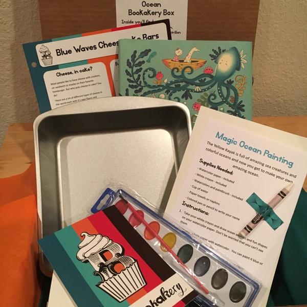 Ocean Bookakery Box - March 2018
