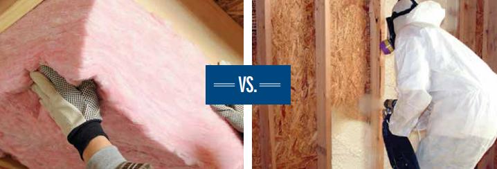 Fiber Glass vs. Spray Foam Insulation: Comparing the Facts