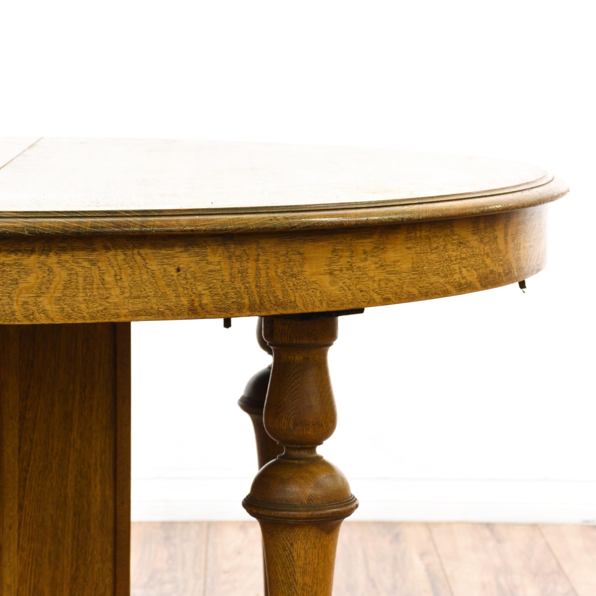 Round Turned Quarter Sawn Oak Dining Table Loveseat  : convertw2000amph2000ampfitcropamprotateexif from www.loveseat.com size 2000 x 2000 jpeg 249kB