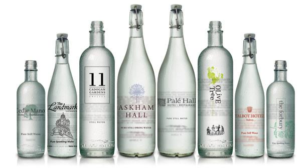 EcoPure Waters bottled range