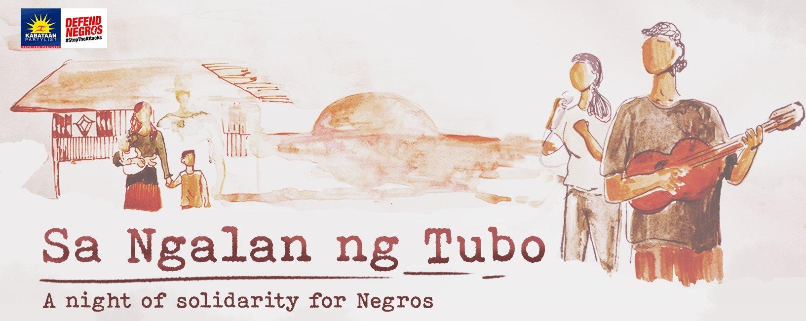 Sa Ngalan ng Tubo: A night of solidarity for Negros
