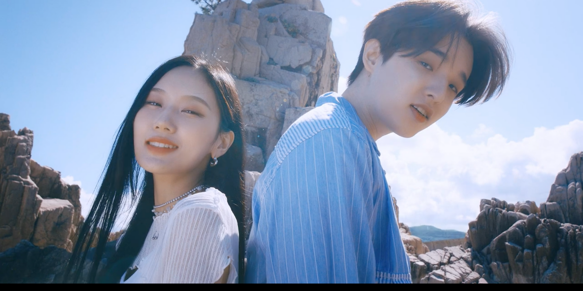 Seori and eaJ come together in new music video for 'Dive with you' – watch