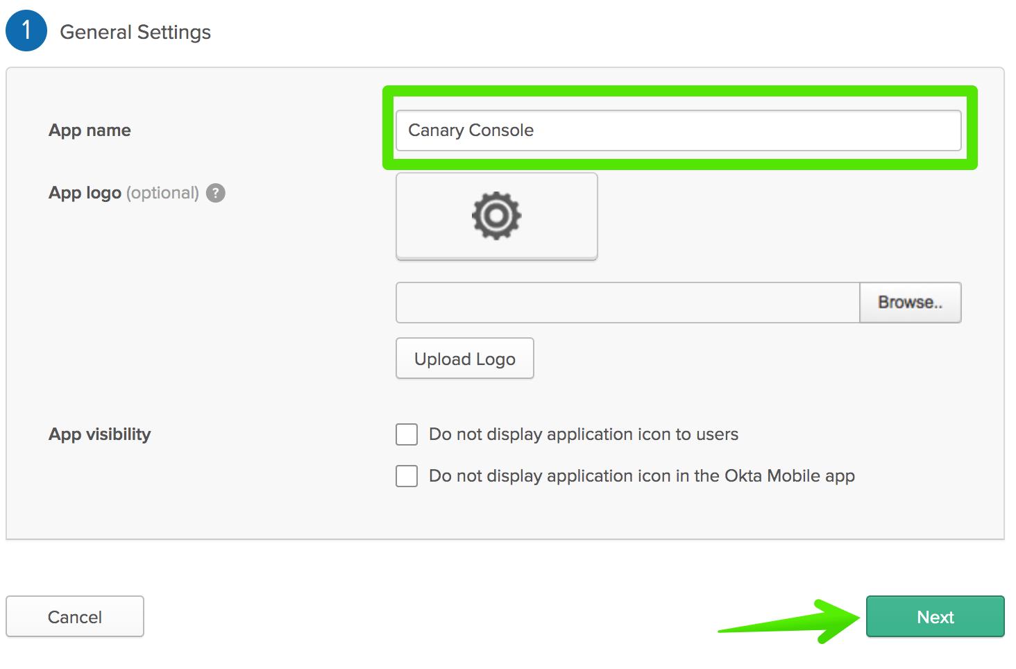 Configuring SAML: Okta