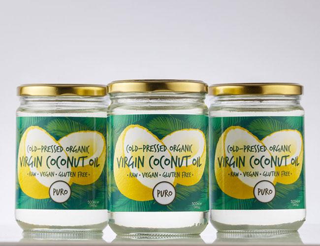 Puro cold-pressed organic virgin coconut oil