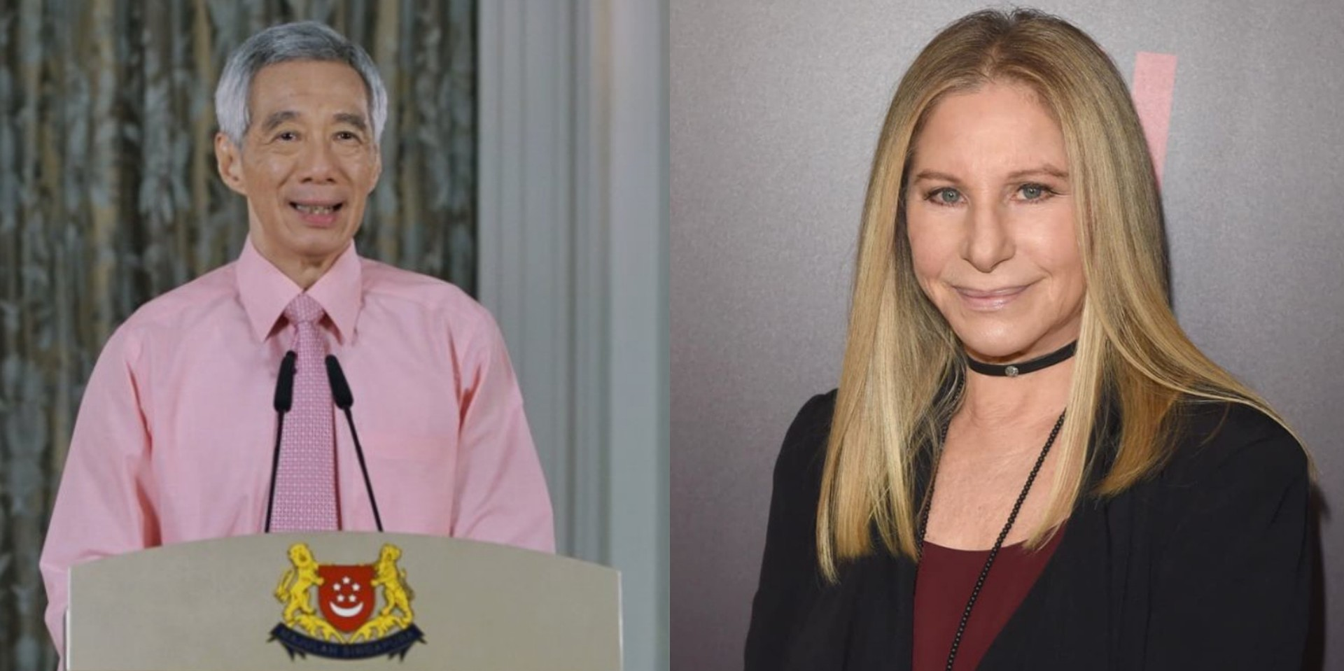 Barbra Streisand praises Singapore PM Lee Hsien Loong over response to COVID-19