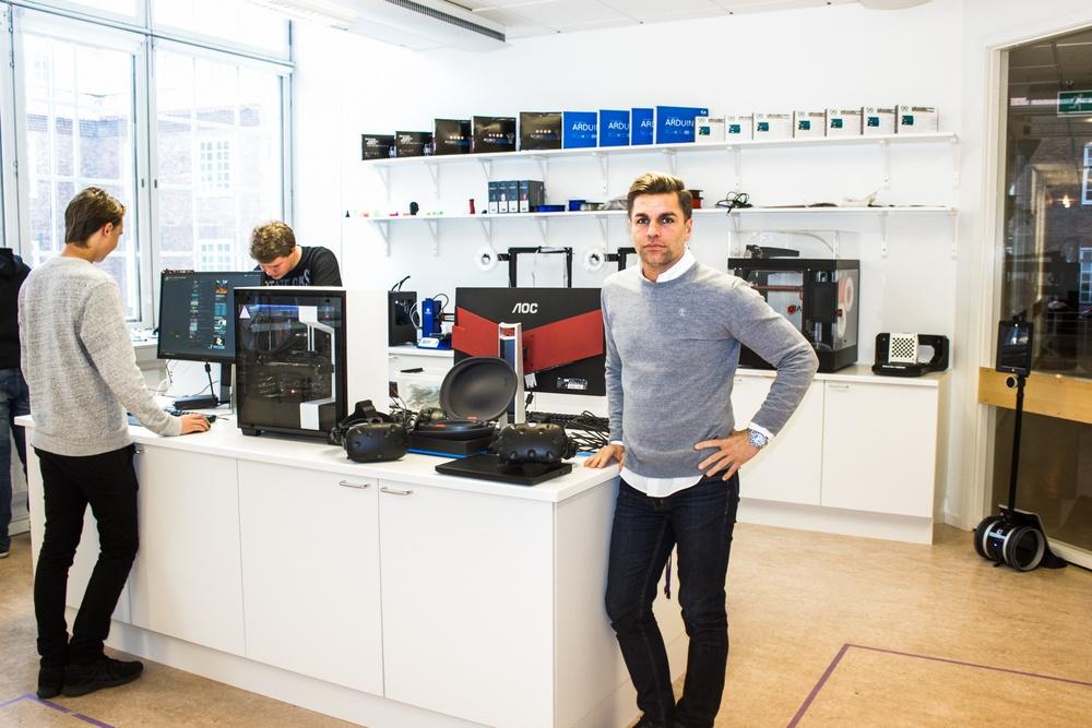Makerspace på NTI gymnasiet i Västerås