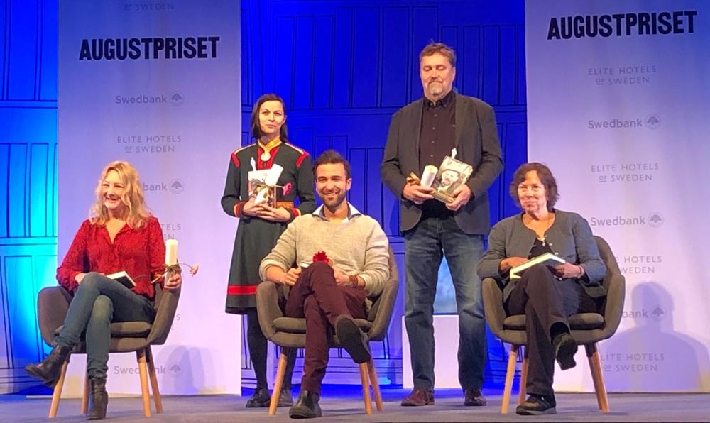 Arash Sanari och övriga nominerade till Augustpriset 2020, fackboksklassen