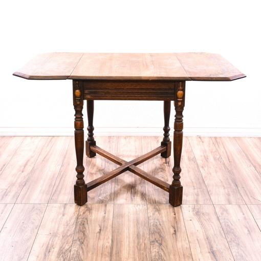 Dining Room Furniture San Diego: Rustic Drop Leaf Dining Table