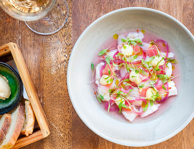 Ceviche by Diego Jacquet at Zoilo