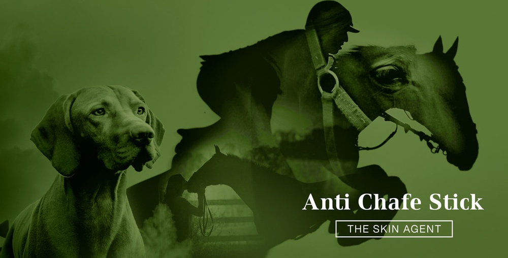 Header image Horse & Hound Anti Chafe Stick from The Skin Agent