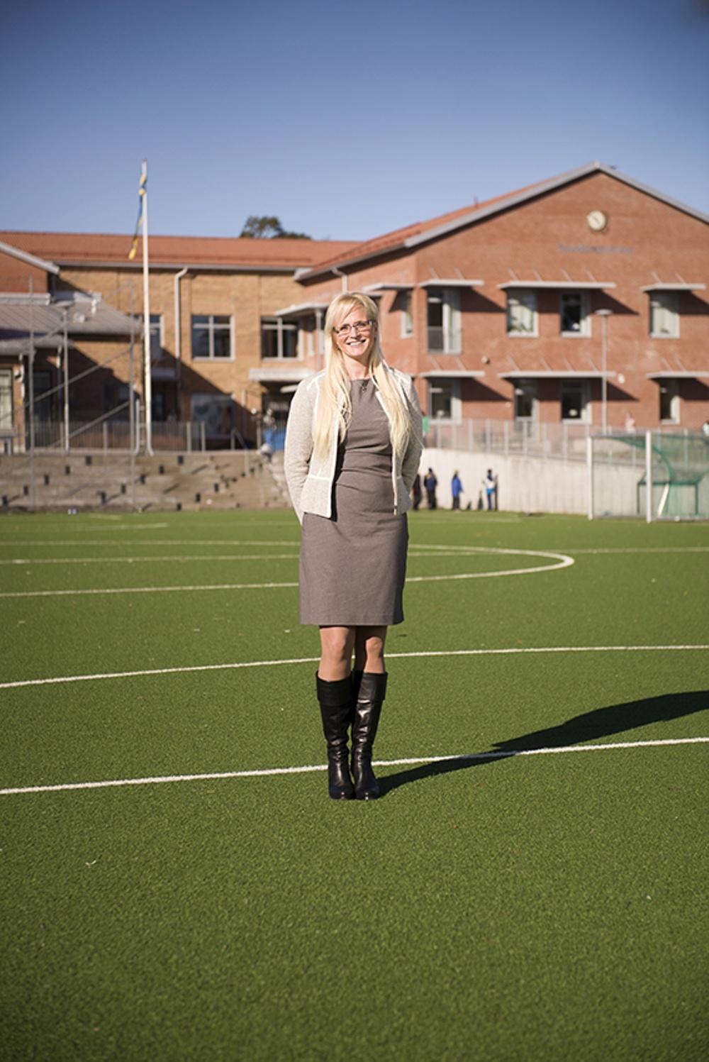 Möt Lolitha Nilsson, rektor på Smedshagsskolan i Hässelby, som berättar om det fantastiska kultursamarbetet med Unga på Operan. Foto: David Magnusson