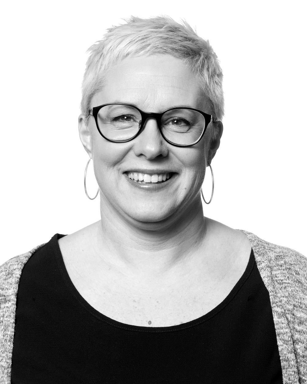 Theresa Eriksson, pedagog/producent, Nordiskt Berättarcentrum.  Foto: Patrick Degerman.