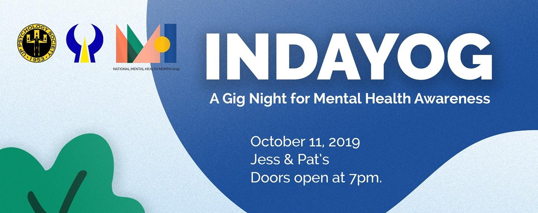 Indayog: A Gig Night for Mental Health Awareness