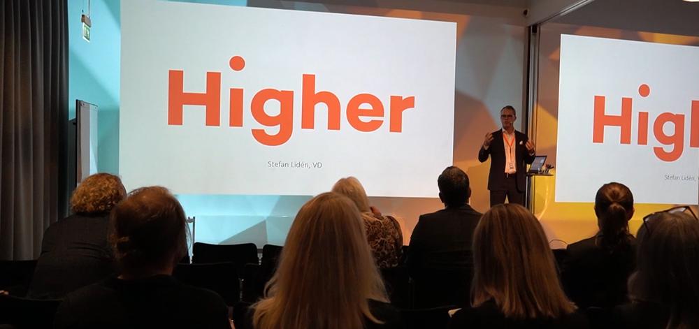 Presentation av Higher på Magnet Awards