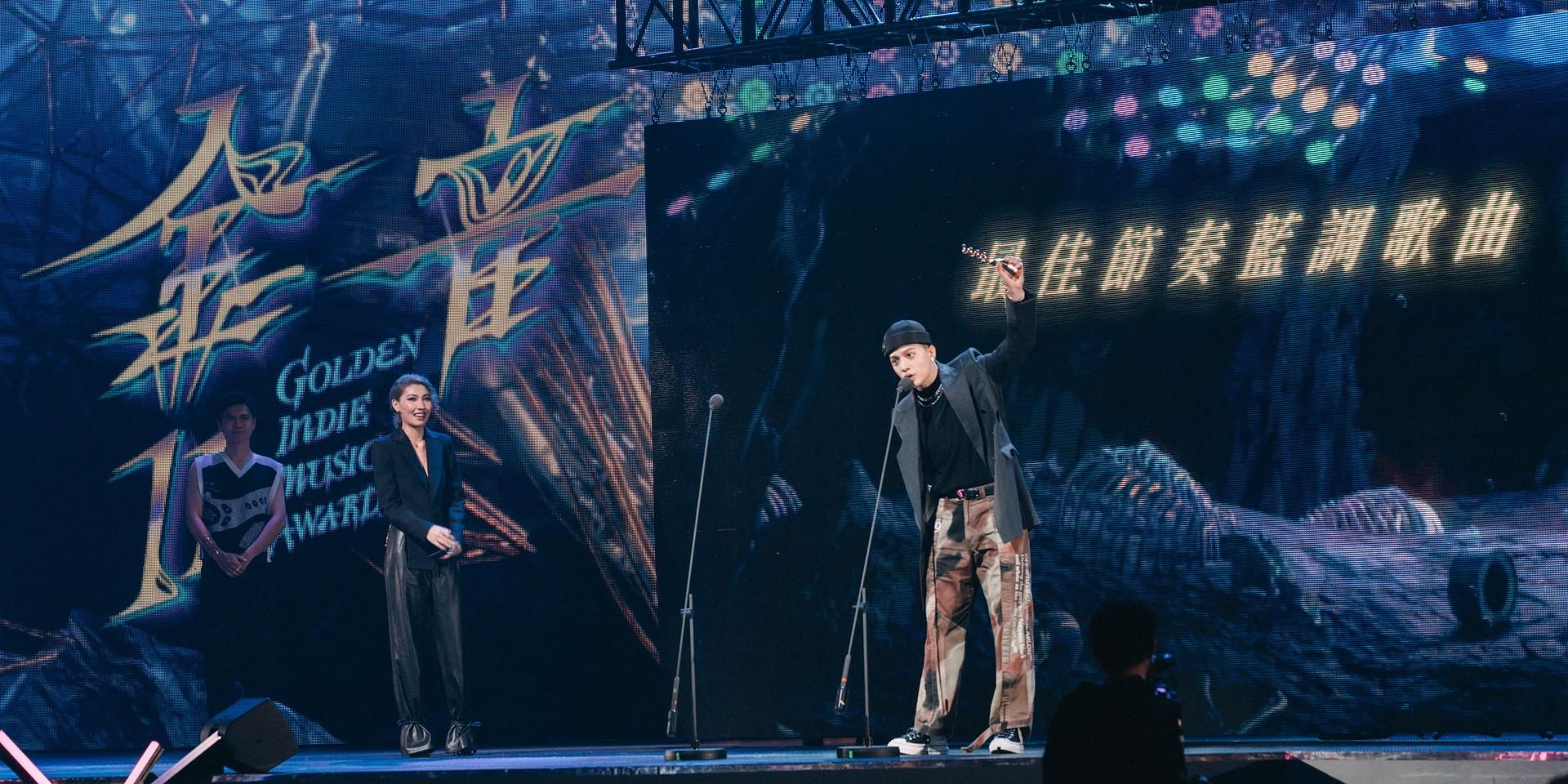 【2020金音奖】主持人阿爆气势爆棚拿下最佳专辑,J.Sheon夺3奖成最大赢家