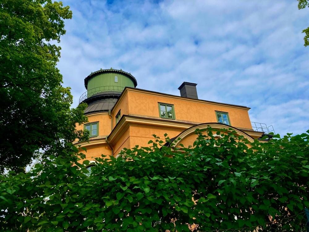 Det gamla observatoriet uppe på Observatorikullen