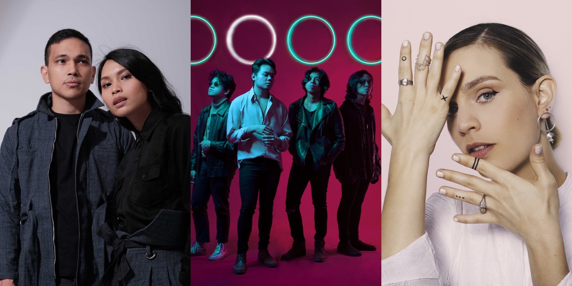 Get to know three artists performing at the Bandwagon Stage at Music Matters Live