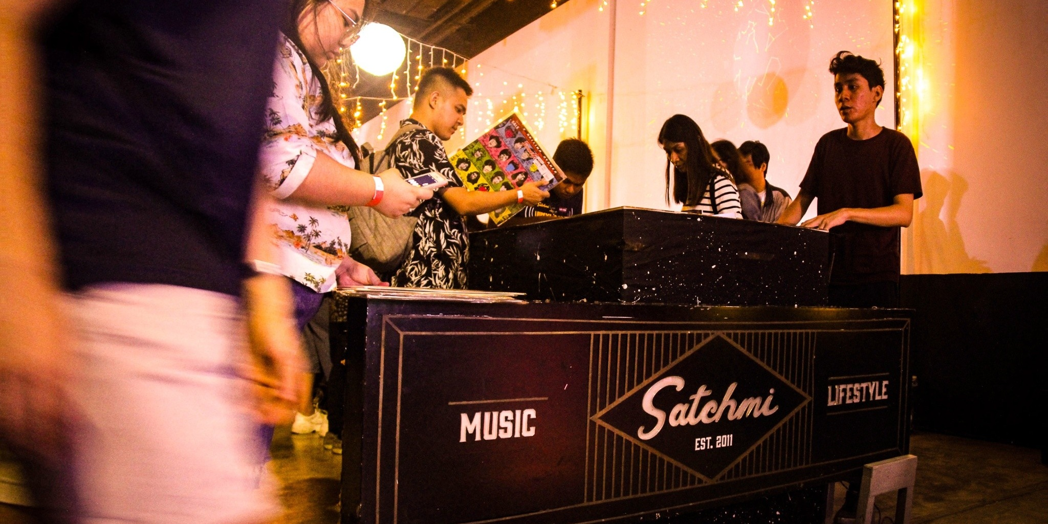 Satchmi unites music and art fans at Vinyl Day – photo gallery