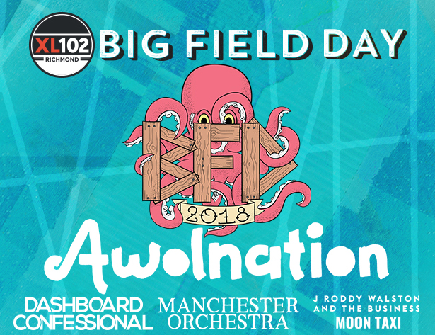IAH- Big Field Day featuring Awolnation, June 23, 2018, gates 2pm