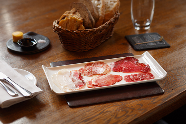 Home-cured charcuterie