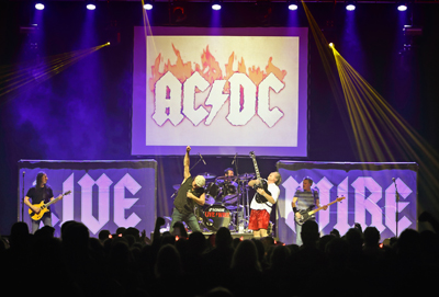 BT - Live Wire (The Ultimate AC/DC Experience) - February 26, 2022, doors 6:30pm