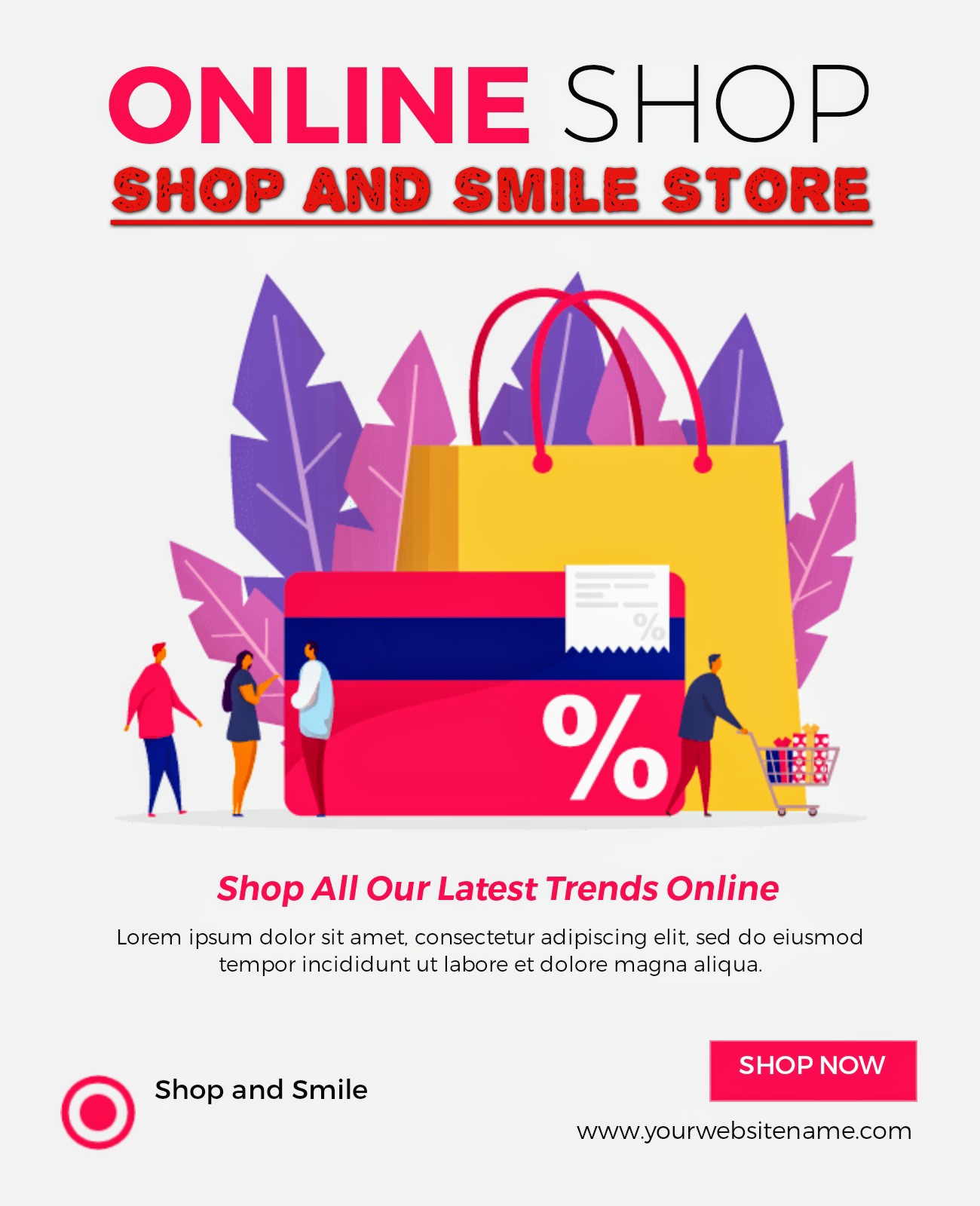 Shop and Smile